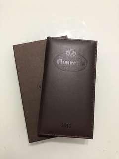 Church's 2017真皮年曆(全新)