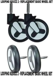 Looping Squizz 2 Replacement Basic Wheel Set