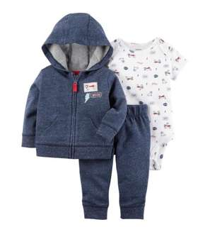 *6M* Brand New Carter's 3-Piece Little Jacket Set For Baby Boy