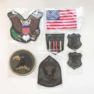 Military Patches (set of 7 for $12)