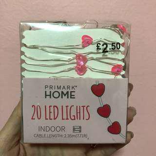 Heart Shape Fairy lights