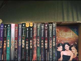 EVERYTHING MUST GO: Classic Charmed Books