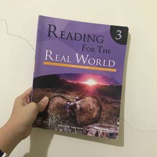 reading for the real world 3 大學英文用書