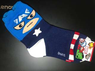 Marvel Captain America Foot Socks