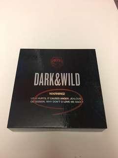 BTS DARK & WILD OFFICIAL HOLO ALBUM!!