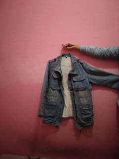 Parka Blue Jeans