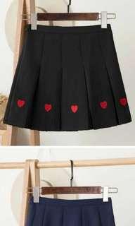 Black Heart Skorts