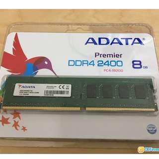 (徵求 Looking for) ADATA Premier DDR4 2400Mhz 8GB 記憶體 Desktop版