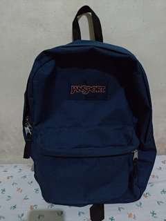 Original Jansport Backpack (Navy Blue)