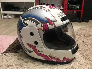 Fullface Helmet Michel #rare