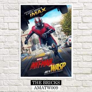 Ant-Man And The Wasp Marvel Poster