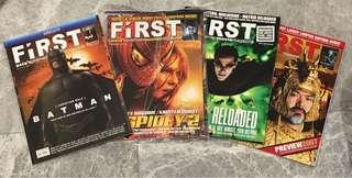 FIRST Movie Magazines