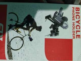 Bicycle phone holder