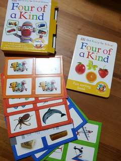Four of a kind sorting book