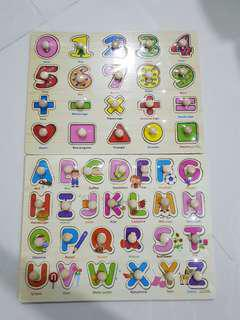 🚚 [FREE MAIL]BN wooden puzzles
