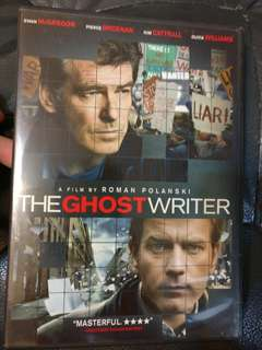 Ghost writer dvd