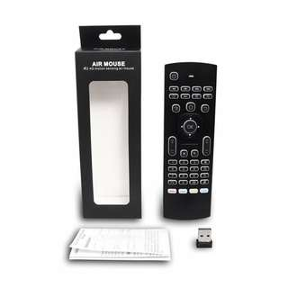 Mx3 Air mouse remote / Keyboard on the reverse / Back led light / Self collect / Postage /