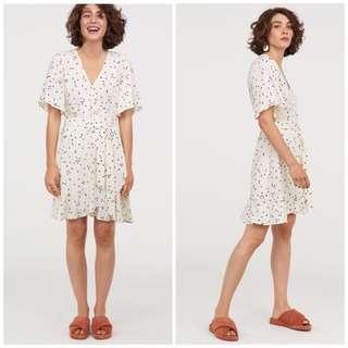 OshareGirl 07 歐美女士波點印花綁帶造型連身裙洋裝