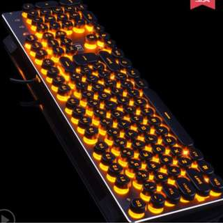 🔥 Mechanical Keyboard - Backlit with ROUNDED Keys!