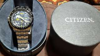 CITIZEN ECHO DRIVE PILOT WATCH