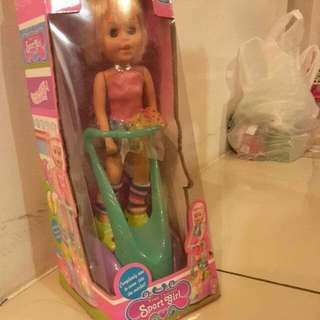 Motorized SPORT Girl Doll