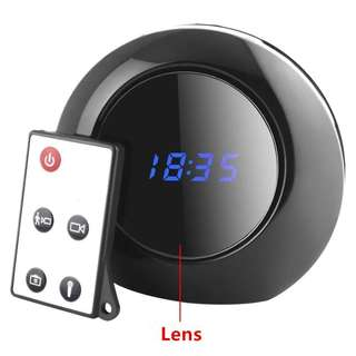 1305. FiveSky Mini 1280x960 HD Hidden Wireless Camera Alarm Clock Motion Activated Video Recorder DV Camcorder 140° Wide View Angle