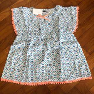 3T NEW Creeks printed tunic top toddler