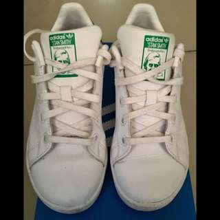 Orig Adidas Stan Smith Shoes (Kids)