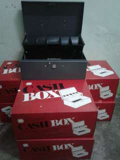 Cash Box with key