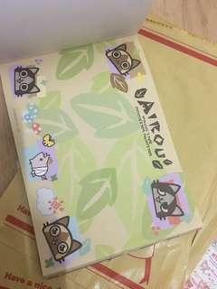 日本貓貓memo紙