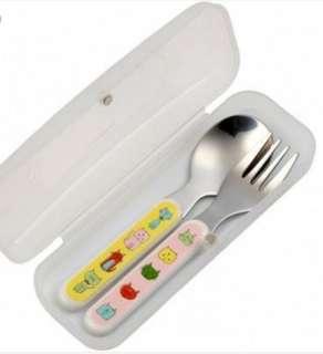 BNIB Sugarbooger silverware fork & spoon set