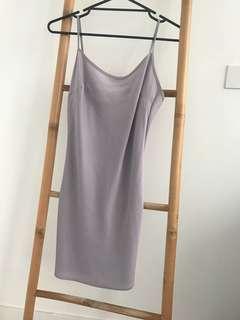 Lilac Silk Slip