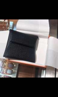 Hermsa brand new Bastia (coin pouch)- Noir color