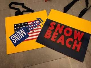 Ralph Lauren - snow beach paper bag