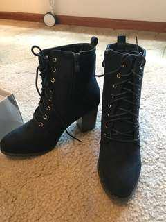 Navy Boots (new)
