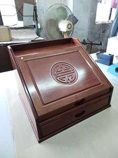 多層缅花木盒
