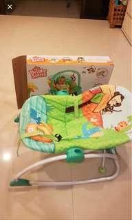 Bright Starts - Baby Rocker & Convertable chair