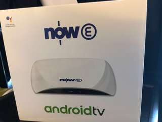 (NEW) NOW E android tv 機頂盒 - 包優惠代碼