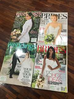 Bridal Magazine Bundle (martha stewart & brides)