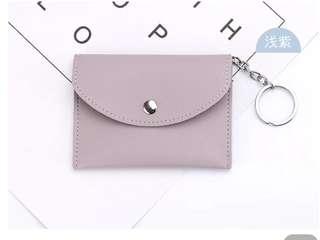 卡片包 淺紫色