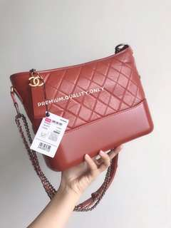 Chanel Gabrielle Hobo Bag - orange
