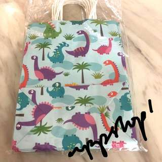 Dinosaur 🦕 theme paper bag, party goody bags carrier, goodie bag