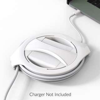 The Side Winder MacBook Charger Winder by FUSE Power Cable Management