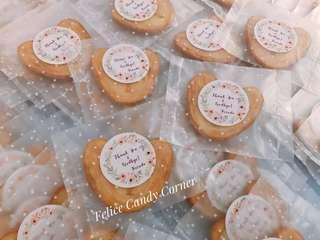 #散水餅 #回禮禮物 #婚宴 #百日宴 #公司派對 #candycorner #100days #蝴蝶餅 #蝴蝶酥 #wedding #gift