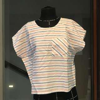 NEW COTTON INK STRIPED TOP!