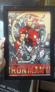 iron man poster 鐵甲俠海報