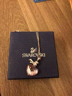 Swarovski heart pendant necklace