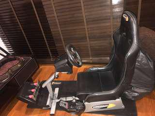 Play seats with Logitech G27