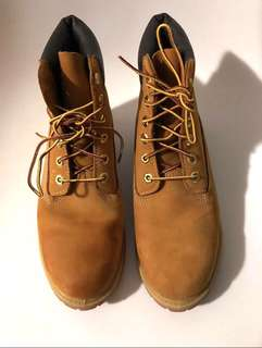 Brown Timberland Boots Size 9
