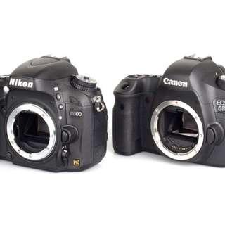WTB/BUY Canon/Nikon DSLR Cameras(Highest Price)